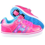 Heelys X2 Bolt Plus Rollschuhe Hot Pink Hologram/Neon Blue