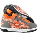 Heelys Rollschuhe X2 Dual Up Charcoal Orange Electricity