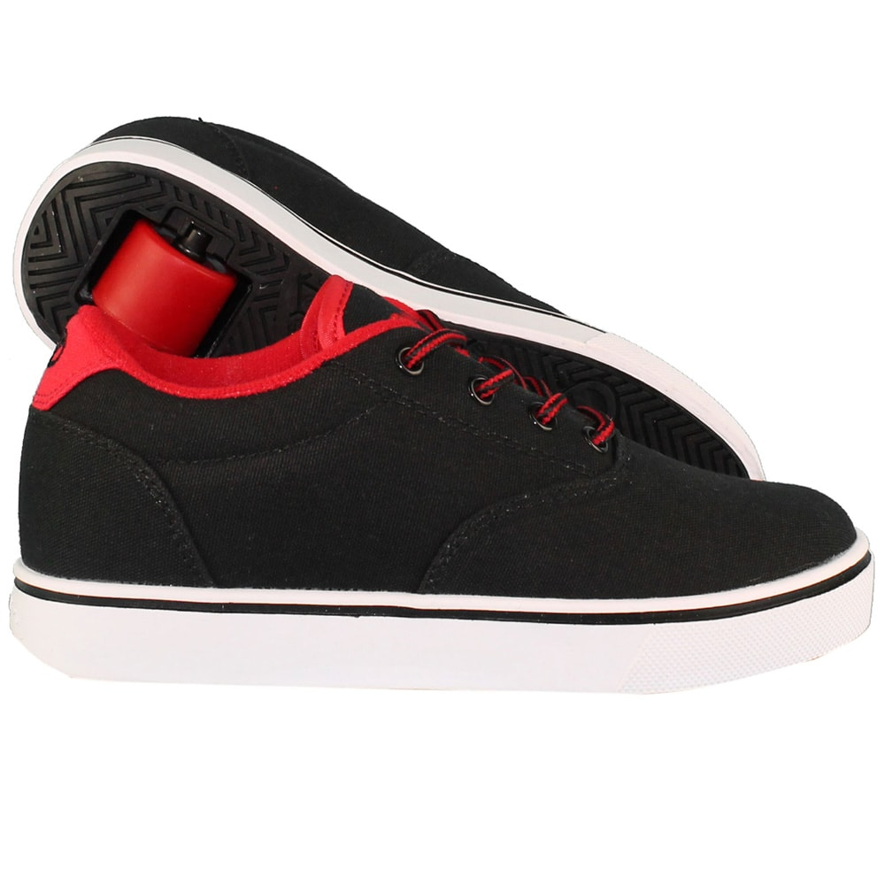 5a76122adb4563 Heelys Launch Rollschuhe Black Black-Red