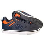 Heelys Motion Navy Neon Orange