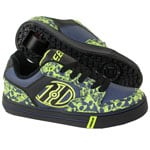 Heelys Rollschuhe Motion Black Navy Lime Skulls