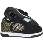 Heelys X2 Plus Lighted Black Gold