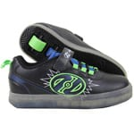 Heelys Pow X2 Lighted Rollschuhe Black/Blue/Green