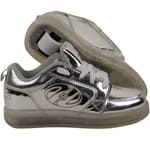 Heelys Premium 1 Lo Lighted HE100263 Rollschuhe Silver/Chrome