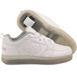 Heelys Premium 1 Lo Lighted Rollschuhe Triple White