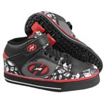 Heelys Rollschuhe X2 Cruz Black Grey Red Skulls