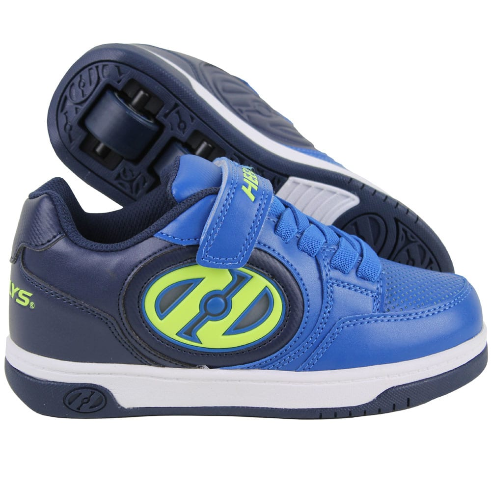 Heelys X2 Plus Lighted Rollschuhe Navy/Blue/Yellow