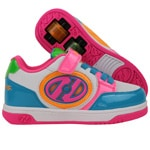 Heelys X2 Plus Lighted Rollschuhe White/Neon Multi