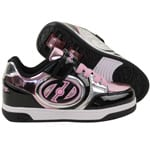 Heelys X2 Plus Lighted Rollschuhe Black/Silver/Pink