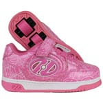 Heelys X2 Plus Lighted Pink Patent/White Logo