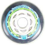 Hyper Superlight ILS Wheels Inline Ersatzrollen 72mm/82A Transparent