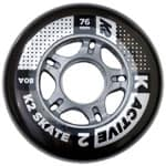 K2 Active Wheel 4 Pack 76 mm