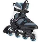 K2 Alexis 80 PRO Inline Skates Black/Gray/Light Blue