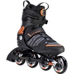 K2 FIT 84 BOA Inline Skates Black Gray Orange