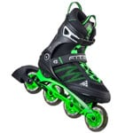 K2 FIT Pro 84 M Inline Skates 30A0005 Black/Green 2016