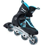 K2 Flight 80 M Inline Skates 30A0731 - Black/Blue