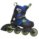 K2 Merlin Jr. Boys Kinder Inline Skates - Blue/Black/Green