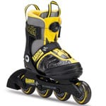 K2 Raider Boa Junior Kinder-Inlineskates Black Yellow