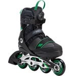 K2 Sk8 Hero Boa Alu Kinder Inline-Skates Black/Green