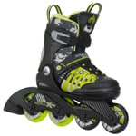 K2 Sk8 Hero X Pro Jr. Kinder Inline Skates - Black/Green