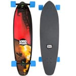 Long Island Bay Complete Longboard (blue black)