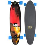 Long Island Bay Complete Longboard (blue yellow)