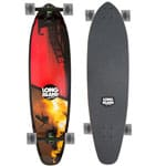 Long Island Bay Complete Longboard (clear black)