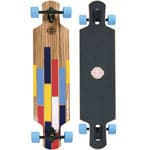 Long Island Bushido Komplett Longboard Drop Through - Blue