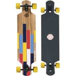 Long Island Bushido Komplett Longboard Drop Through - Yellow