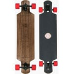 Long Island Cosmic Komplett Longboard - Red