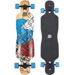 Long Island Cube Complete Longboard - Blue/Purple