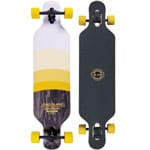 Long Island Degrade Komplett Longboard Drop Through - Yellow