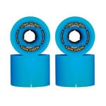 Long Island Hurricanes Carving Longboard Wheels 69mm 78A - Blue