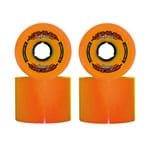 Long Island Hurricanes Carving Longboard Wheels 69mm 78A - Orange