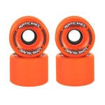 Long Island Hurricanes Freeride Longboard Wheels 65mm 83A - Orange