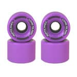 Long Island Hurricanes Freeride Longboard Wheels 65mm 83A - Purple