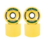Long Island Hurricanes Freestyle Longboard Wheels 71mm 83A - Yellow