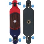 Long Island Pointer Komplett Longboard Drop Through - Blue