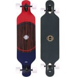 Long Island Pointer Komplett Longboard Drop Through - White