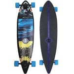 Long Island Spot Complete Longboard - Blue/Purple