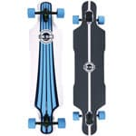 Long Island Urban Komplett Longboard Drop Through - Blue