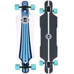 Long Island Urban Komplett Longboard Drop Through - Turquise