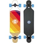 Long Island World Komplett Longboard - Blue