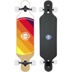 Long Island World Komplett Longboard Drop Through - White