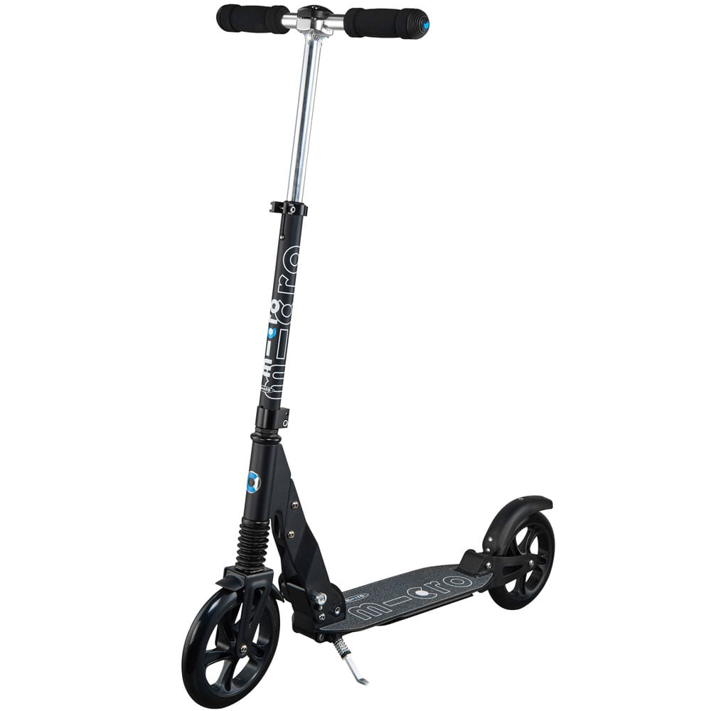 micro suspension scooter city roller black fun sport vision. Black Bedroom Furniture Sets. Home Design Ideas