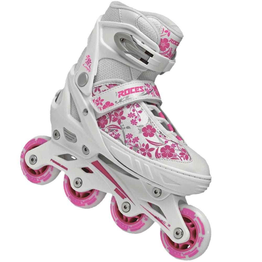 roces compy 8 kinder inline skates white violet fun. Black Bedroom Furniture Sets. Home Design Ideas
