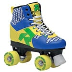 Roces Disco Palace Rollschuhe Blue Yellow