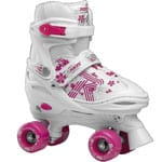Roces Quaddy Girl 3 White Pink
