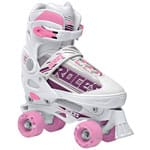 Roces Quaddy Girl Kinder-Rollschuhe White/Pink