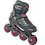 Roces ZYX Herren Inline Skates Black Crimson Red